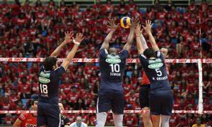 Sada Cruzeiro, um dos times favoritos nas apostas no voleibol
