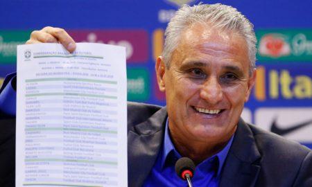 Tite e a lista de convocados para a Copa do Mundo 2018