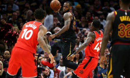 Toronto Raptors v Cleveland Cavaliers - LeBron James