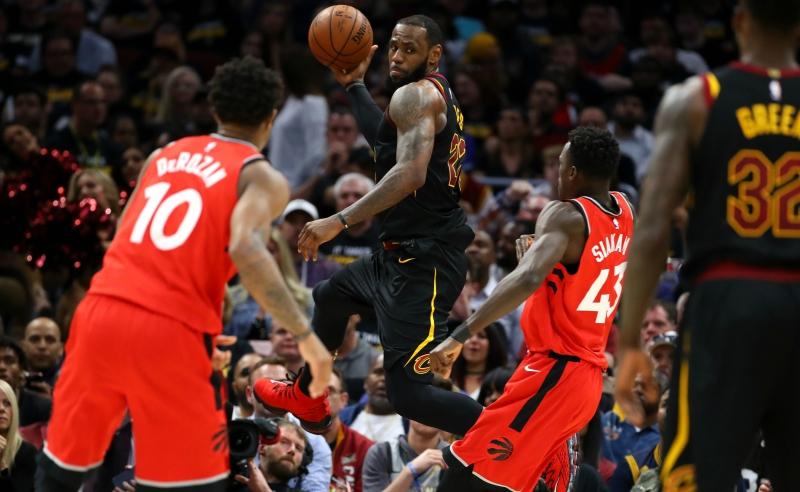 Toronto Raptors v Cleveland Cavaliers – LeBron James