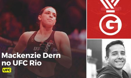 UFC aposta em brilho de Mackenzie Dern para show no Rio