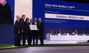 Anúncio da sede da Copa do Mundo 2026