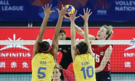 Brasil vs EUA Liga das Nações