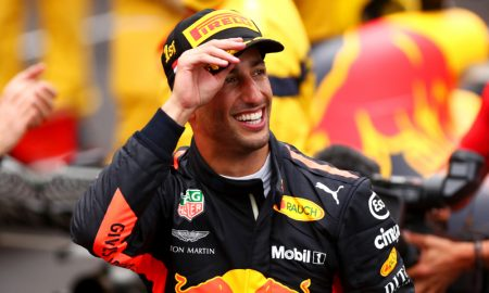 O australiano Daniel Ricciardo, piloto da Red Bull na Fórmula 1