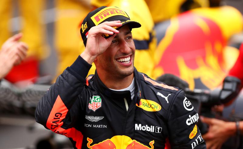 Daniel Ricciardo da Red Bull Racing