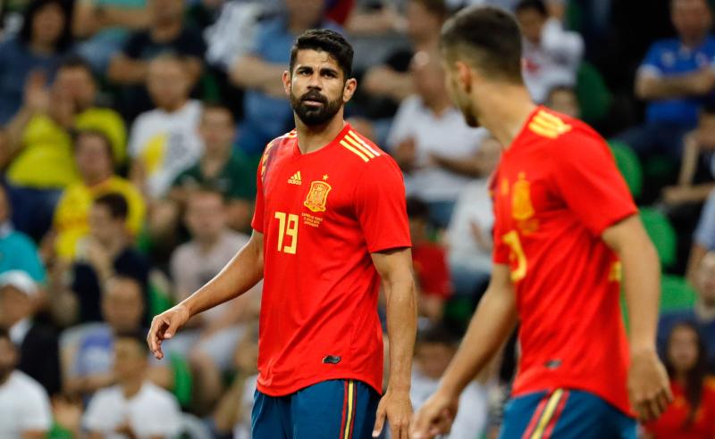 Diego Costa da Espanha