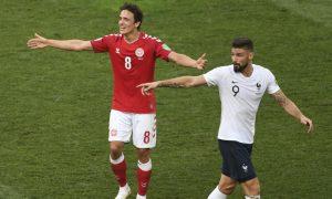 França vs Dinamarca