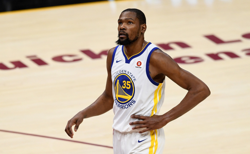 Kevin Durant do Golden State Warriors
