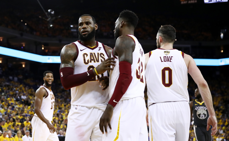 LeBron James do Cleveland Cavaliers