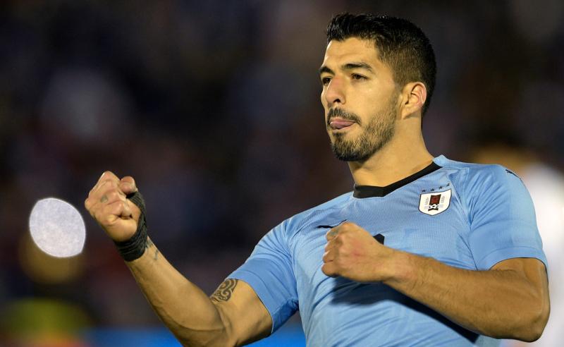 Luis Suárez da Seleção Uruguaia