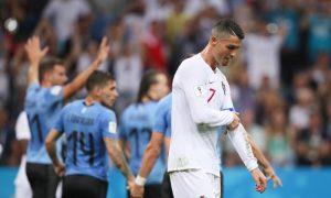Portugal é eliminado pelo Uruguai