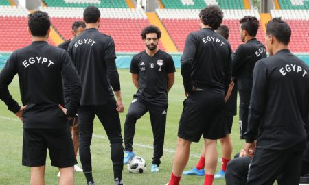 Salah e a Seleção do Egito