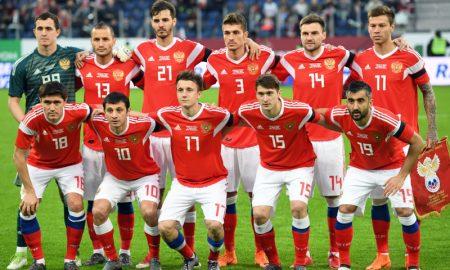 Seleção Russa março 2018