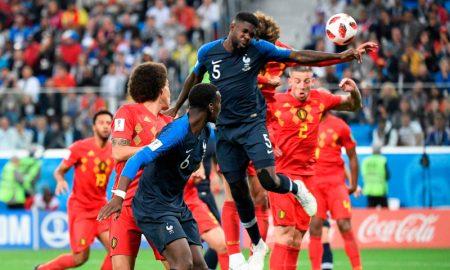 França vs Bélgica