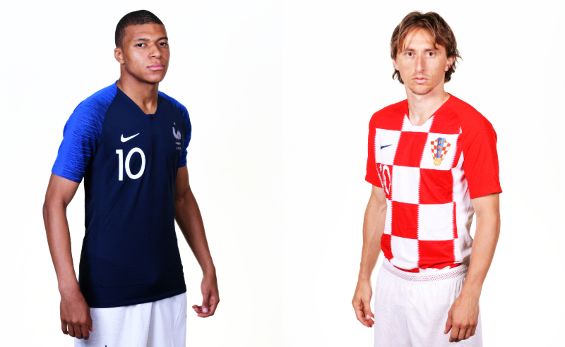 França vs Croácia