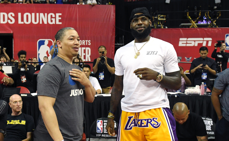 LeBron do Lakers