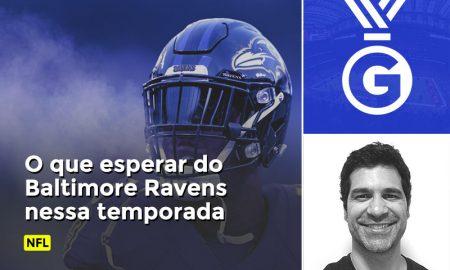 Prognóstico em vídeo de Paulo Antunes da temporada do Baltimore Ravens no NFL.
