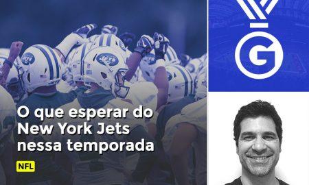 Paulo Antunes avalia em vídeo o que esperar do New York Jets na temporada de 2018 do NFL.
