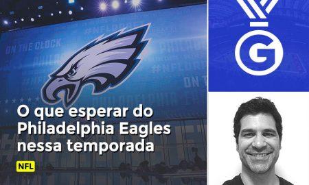 Paulo Antunes avalia em vídeo o que esperar do Philadelphia Eagles na temporada de 2018 do NFL.