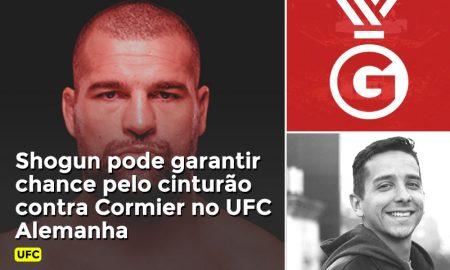 Prognóstico da luta entre Shogun e Cormier no UFC Alemanha