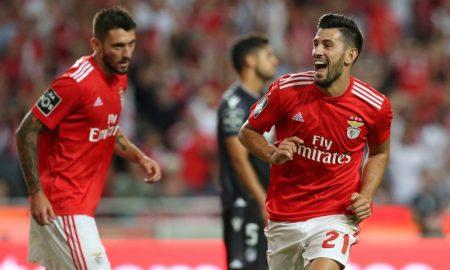 Jogadores do time Benfica