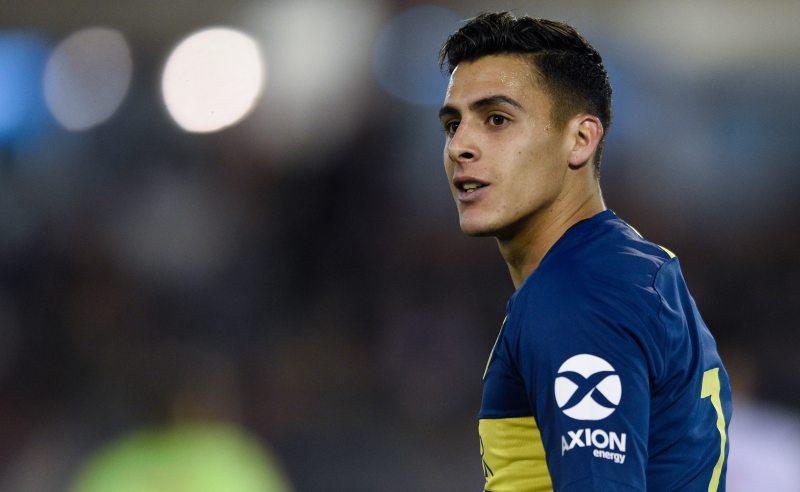 Cristian Pavon do Boca Juniors