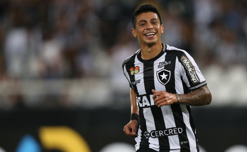 Jogador Renatinho do Botafogo