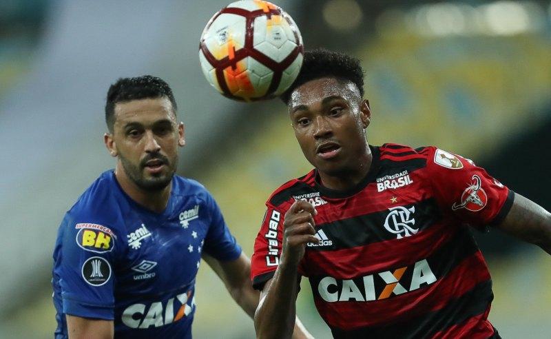 Jogo entre Flamengo e Cruzeiro