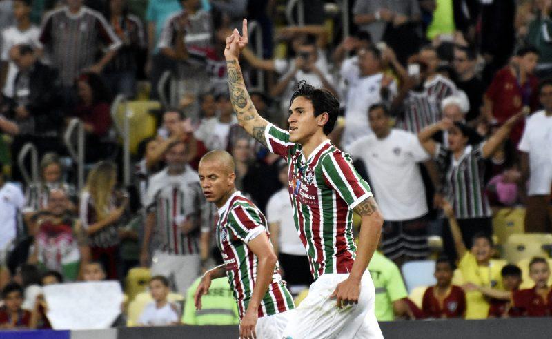 Jogador Pedro do Fluminense