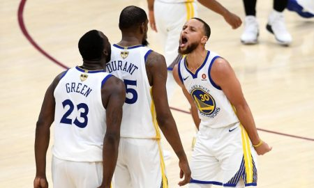 Jogadores do Golden State Warriors