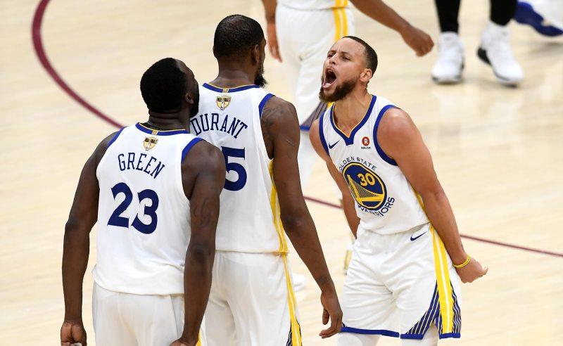 Jogadores do Golden State Warriors
