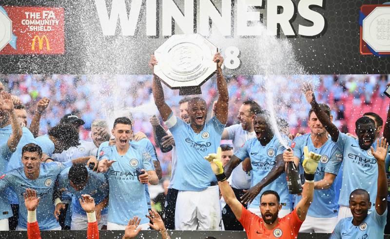 Manchester City vence o Community Shild