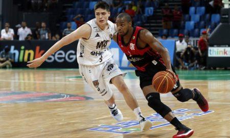 Jogo entre Flamengo e Mogi pela semifinal da NBB 2018/19