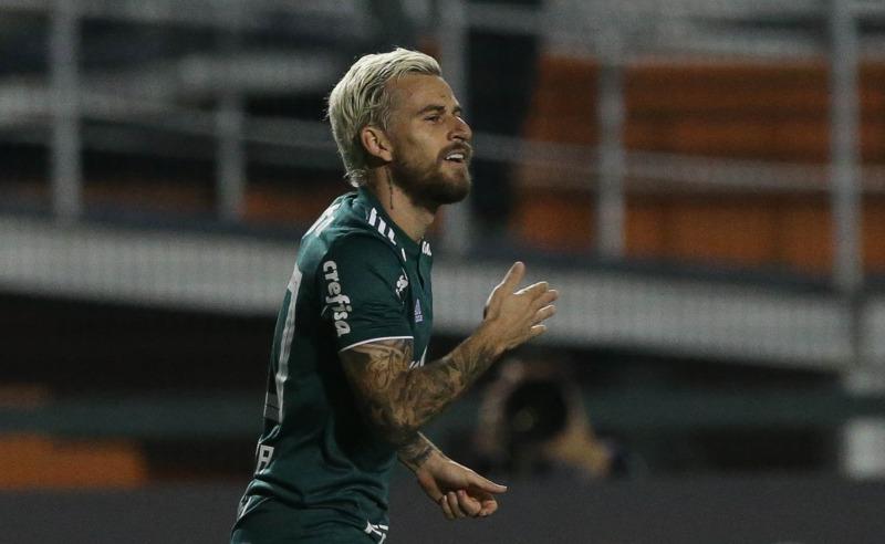 Jogador Lucas Lima do Palmeiras
