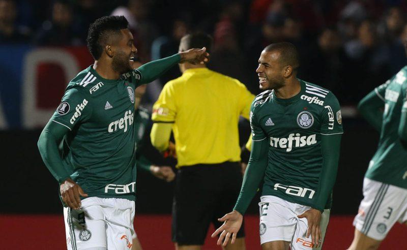 Borja do Palmeiras comemora gol