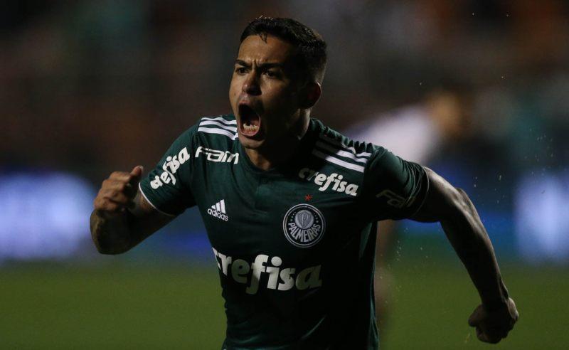 Jogador Dudu do Palmeiras