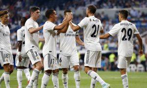 Jogadores do Real Madrid