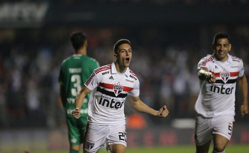 Jogadores do São Paulo
