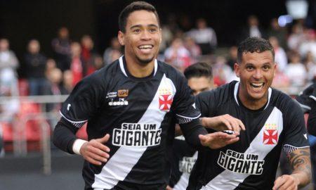 Jogadores do Vasco