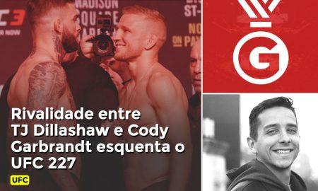 Coutinho fala em vídeo sobre a rivalidade entre TJ Dillashaw e Cody Garbrandt e a luta entre os dois no UFC 227.
