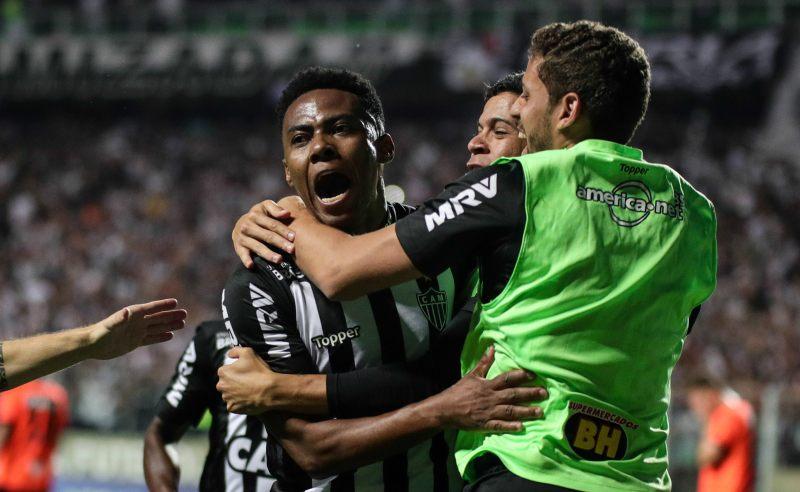 Jogadores do Atlético-MG