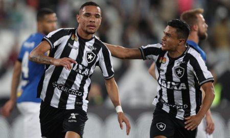 Luiz Fernando e colega do Botafogo