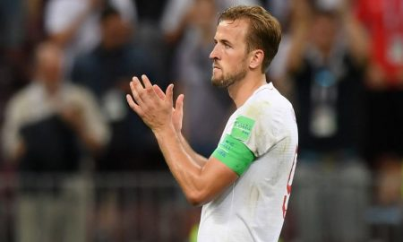 Harry Kane da Inglaterra na Copa do Mundo 2018