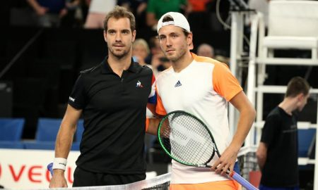 Lucas Pouille e Richard Gasquet da França