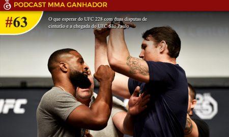 Podcast MMA Ganhador #63 - UFC 228