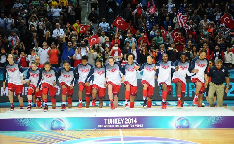 EUA foram os vencedores da edição 2014 do Mundial Feminino de Basquete