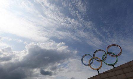 Símbolo Olímpico em Beijing