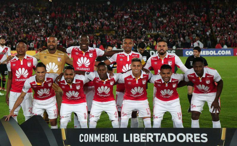 Time do Santa Fe na Libertadores