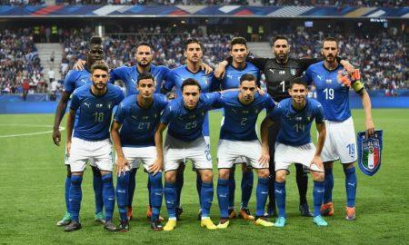 Seleção Italiana em amistoso