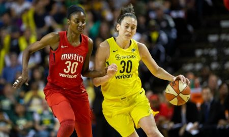 Washington Mystics X Seattle Storm na final da WNBA